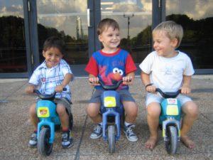 Sean, Miki, Alex - superMOPI racing team